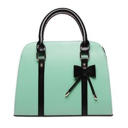 Blocco di colore della borsa online-All'ingrosso-High Products Candy color block handbag modellando una spalla cross-body donne bianche borse da donna