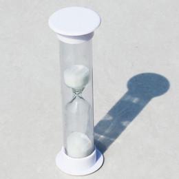 Reloj de arena de minutos online-Reloj de arena Mini 120 Segundos Reloj de arena de 2 minutos Temporizador Tubo de cristal Juegos de cronometraje Reloj de arena práctico Decoración 1 5ke J R