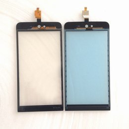 Wholesale Touch Panel Iphone 3g - Wholesale- 5 inch For Wiko Rainbow Jam 3G Touch Screen Glass Panel Digitizer Free shipping France