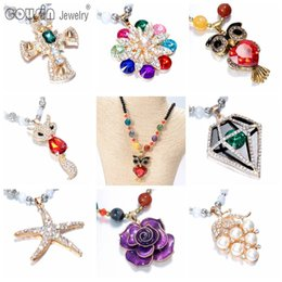Wholesale Synthetic Jewelry Stone - New Arrivals Bohemia Styles Necklace Pendant for Woman Multi Styles Fit Bohemia vintage Dress Fine Jewelry Free Shipping