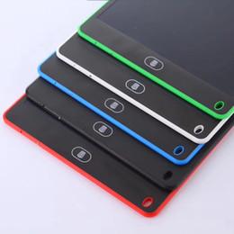 2017 8.5 pulgadas LCD Tableta de la Tableta de Dibujo Tablero de la Escritura a Mano Pads de Regalo para Niños Libreta de Notas de Papel Tabletas Memo Con Pluma Actualizada desde fabricantes