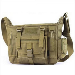 Wholesale Tactical Duffel - Outdoors Casual Military Tactical Bag Acu CP Camouflage Army Green Mens Bag Hiking Travelling Sport Army Duffel Messenger Bag