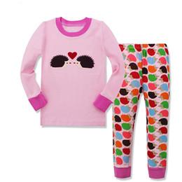 Wholesale Pajama Years - Kids Pajama Sets Boys Sleepwear 2-7 Years Girls Pijamas Suit Children pyjama T-shirt + Pants Spring Winter
