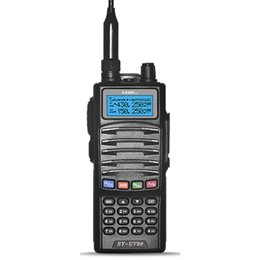 Wholesale Kenwood Handhelds - Hand Mini Generators Walkie Talkie Dual Band VHF&UHF Transceiver Handheld Two Way Radios Ham radios CB radios KENWOOD ICOM HYT quality
