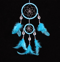 Wholesale Wholesale Living Colors - New Arrival Feather dream catcher decor feather decorations dream catchers 12pcs in mixed colors free shipping