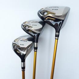 Wholesale Graphite Shaft Regular Flex - 3 Star Honma Beres S-03 Wood Set Golf Clubs Driver(1pc) &Fairway Woods(2pcs) Regular Stiff Flex Graphite Shaft With Head Cover