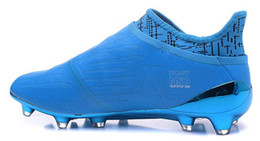 Wholesale Cheap Soccer Shoes Messi - PureChaos X 16 FG football shoes,Cheap discount X 16 FG Purechaos,Messi Training Sneakers Cleats,Soccer shoes,2016 new popular Sneaker BOOT