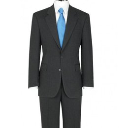Wholesale Tailor Made Formal Pants - Tailored Wool Blend Mens Slim Fit Suits Images High Quality Groom Tuxedos Notched Lapel Man Formal Business Casual Clothing(Jacket+Pants+Tie