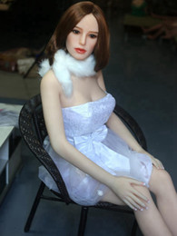 Wholesale Cheap Full Silicone Dolls - 163cm Real silicone sex dolls sex toys for men sexy rubber doll pussy vagina ass cheap stuff the sexual dolls japanese full body