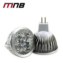 Wholesale 4w Led Mr16 Light - Super Bright 4W MR16 12V Led Spotlights Warm White Light Cool White LED lamp