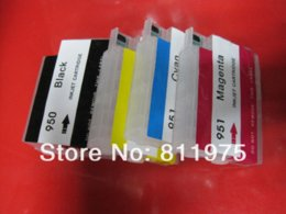 Wholesale New Compatible Hp Ink Cartridge - new 950xl 951xl with chip refillable ink cartridge Compatible For hp Officejet Pro 8610 8620 8630 8640 8660 8615 8625 printer Ink Cartridges