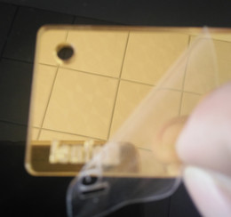 Wholesale Kinds Mirrors - 3mm thickness A3 both side mirror gold color Acrylic Plexiglass Sheets Plastic Plate Handicraft PMMA Board plate