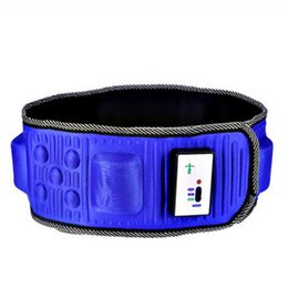 magnetic therapy devices 2018 - AB Gymnic Electronic Gymnastic Device Slimming Belt Muscle Exercise Toner Slim Fit Gymnic Vibration Massage Belt Leg Waist Abdominal Massage