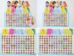 Argentina 20 hojas 1120 pares Princesa Blanca Nieves Pendientes adhesivos multicolores pegatinas Suministro
