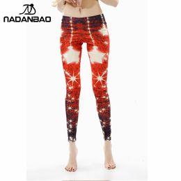 Wholesale Leggins For Girls - Wholesale-New Arrival Christmas Offer Printed Women Girls leggings Red star leggins for woman KDK1411