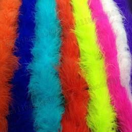 Wholesale Fancy Dress Burlesque - 2M Marabou Feather Boa For Fancy Dress Party Burlesque Boas Costume Accessory Free shipping MYY