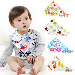 28 Styles New kids Triangle Bibs Bandana burp cloths Baby Cotton kerchief infant Saliva Bibs Pinafore Apron Baby Feeding free shipping Coupon