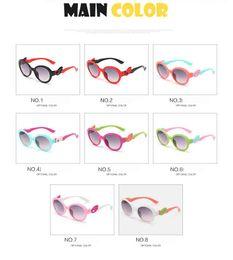 Wholesale Red Frame Safety Glasses - Flexible Kids Sunglasses Polarized Child Baby Safety Coating Sun Glasses UV400 Eyewear Shades Fashion Summer Good Quality Girl Sun Glasses