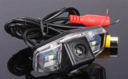 Wholesale Car Reversing Camera Kit Reviews - Car Backup Parking Kit for Honda Accord Civic Europe Pilot Odyssey Acura TSX PC1363 Rear View Reversing Review Reverse Camera