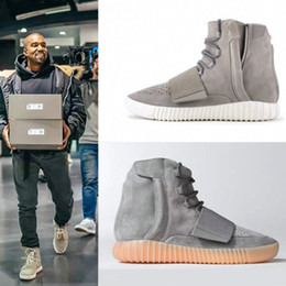 Wholesale Kanye West Chain - Wholesale men's winter kanye west with the money men and women casual shoes boots couple Martin boots boots high shoes 36-46