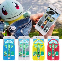 Wholesale Sight Protector - Poke Go Phone Case Protector Catcher Trappers Sighting Device TPU Mobile Phone Shell Cover Case For iphone 6 6splus sumsung s7 note7 F755