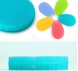 Wholesale Cooking Clothing - New Silicone Brush Magic Dish Bowl Pot Pan Wash Cleaning Brushes Cooking Tool Cleaner Sponges Scouring Pads Kitchen Accessories