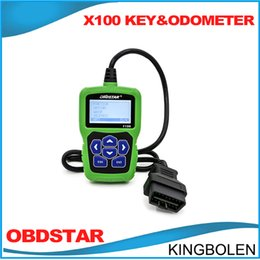 Wholesale Pin Reader Free - DHL Free Shipping OBDSTAR F-100 For Mazda for Ford For JLR Auto Key Programmer & Odometor correction tool F100 No Need Pin Code DHL free