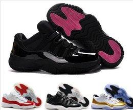 Wholesale Cheap Guns Sale - Navy Gun Retro 11 Cherry Low Basketball Shoes Sneakers GS Space Retro 11s 72-10 Cheap Athletic Men's Sport Shoes XI Sale