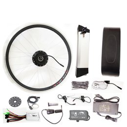 Wholesale Engine Controller - 36V 500W Electric Bikes Conversion Kit With Battery Electrical Kit Conversion Bicycle Electric Bicycles Engine Kits with big controller