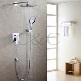 2018 Moderne, Moderne Badezimmer Badezimmer Regendusche Wasserhahn Set  Zeitgenössische Chrom Poliert Bad Luft Dusche Kopf