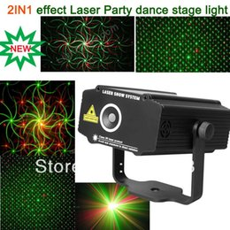 Wholesale Laser Effects Star - New High Quality Mini 2in1 effect R&G Audio stars Whirlwind Laser Projector Stage Disco DJ Club KTV family party light SHOW p14