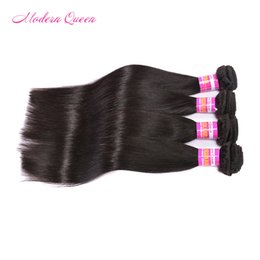 Wholesale Colored Extensions Wholesale - 4 bundles brazillian straight human hair weave can be colored Brazilian hair weave weft cheap Brazilian straight human hair weave extensions