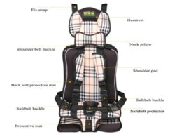 Wholesale Cheap Old Cars - Auto Car Infant Baby Seat Cushion For 1-5 Years Old Child Cheap cushion for cars