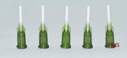 Agulha flexível distribuidora da agulha 14G PP, comprimento 12.7mm do tubo da agulha ID 1.54mm * OD 1.8mm 100PCS / lot de