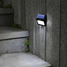 Wholesale Solar Power Wall Mount Lights - LIXADA Rechargeable Solar Power 6 LEDs 0.36W 12LM Lamp Light Sensor Wall Mount for Garden Door Entrance Yard Pathways Outdoor Use Warm White