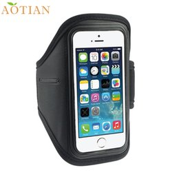Wholesale Cycling Gifts For Men - Wholesale- AONIJIE Sports Running Armbands Sport Gym Running Cycling Arm Band Armband Case For iPhone 5S 5C 4G 4S For ipod Touch 4G Gifts