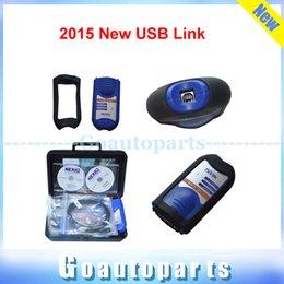 Wholesale Nexiq Scanner - Wholesale-2016 Newest 4CD NEXIQ 125032 USB Link with All Installers 24V heavy diesel duty scanner Diesel truck scanner
