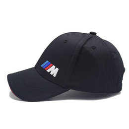 Wholesale Driver Hats - Men's Women's Racing Baseball Cap M Series Rally Motorcycle GP Hat Sun Cap Truck Driver Cap Adjustable