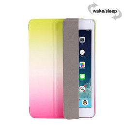 "Wholesale Transformer Folio - Newest iPad Air 2 Stand Smart Case 7.9 inch iPad Mini 2 3 4 Transformers Dual Color Cover Ultra Thin Flip Covers 9.7"" iPad Cases"