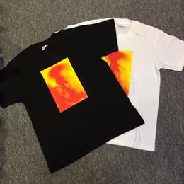Wholesale Madonna T Shirt - 2018 best version Korean hip hop sup Madonna Child Tee 17AW virgin religious collar short sleeve T-shirt men unisex oversize Tees S-XL