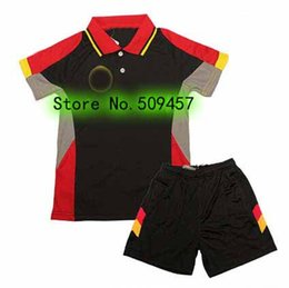 Wholesale Germany Autumn - New Germany Kids table tennis shirts , Deutschland Children table tennis shirts , Child uniforms (shirt+shorts)
