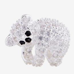 casquettes de pandora Promotion 2016 Belle Koala Animal 100% 925 Sterling Argent Perle Fit Pandora Mode Bijoux DIY Charme Marque