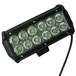 Wholesale Led Driving Lights For Boats - 7Inch 36W for Cree LED Work Light Bar for Indicators Motorcycle Driving Offroad Boat Car Tractor Truck 4x4 SUV ATV Flood
