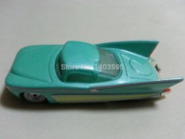 Wholesale Cars Pixar Flo - Pixar Cars Flo Metal Diecast Toy Car 1:55 Loose Brand New In Stock & car set toys