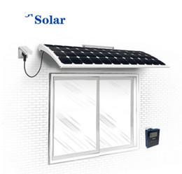 Wholesale Home Power Inverter - solar window micro inverter smart power supply system ,Solar Energy System Smart Home Roof 120W 145W 170W monocrystalline solar panel