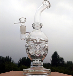 Wholesale Eggs Manufacturers - Newset Glass bong Manufacturer Newest sales recycler glass bong Egg Water pipe recycler bongs oil rig famale 14.4mm joint