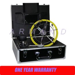 Wholesale Image Transmitter - High Resolution Image sewer CCTV video camera for pipeline& well inspection 710DLC with 512Hz transmitter Meter Counter