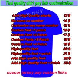 Wholesale Customs Children - soccer jerseys kids kit women children pay links custom logoThailand quality Uniform Fans player version Shirts Football shirt Jersey