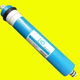 Wholesale ro water filter membrane - New Water Purifier Filter Cartridge 75 gpd RO Membrane Reverse Osmosis System Water Filters For Household