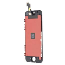 Tela 5s original on-line-conjunto original novo do digitador da tela de toque da exposição do LCD para o iPhone 5S preto